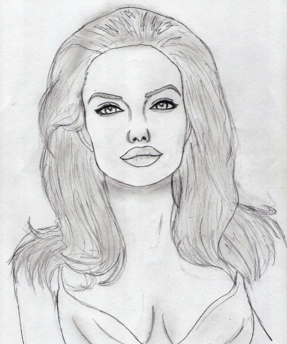 Angelina Jolie by MDiaz